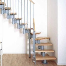 Escaleras para espacios reducidos