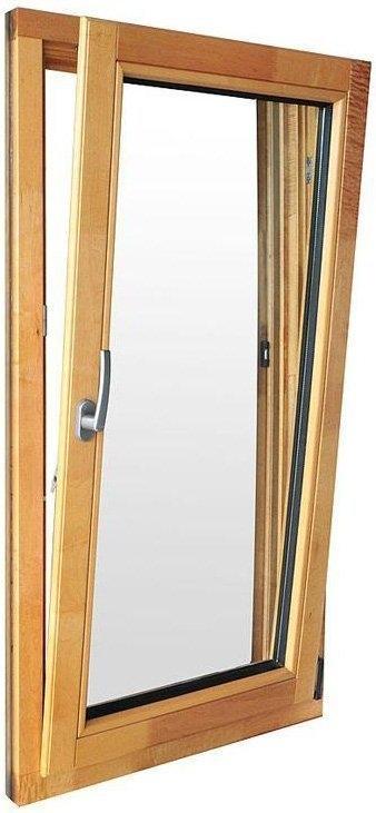 Ventanas Oscilo-Batientes de madera de teka