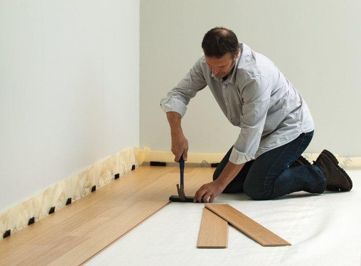 Instalación de suelos laminados / tarimas flotantes