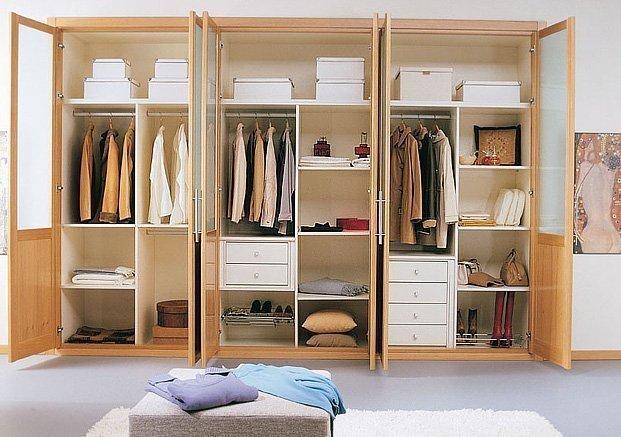 C mo construir un armario perfecto maderas casais - Como vestir un armario ...