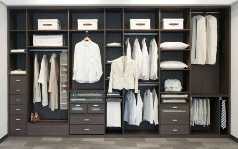 C mo construir un armario perfecto maderas casais - Distribucion de armarios roperos ...
