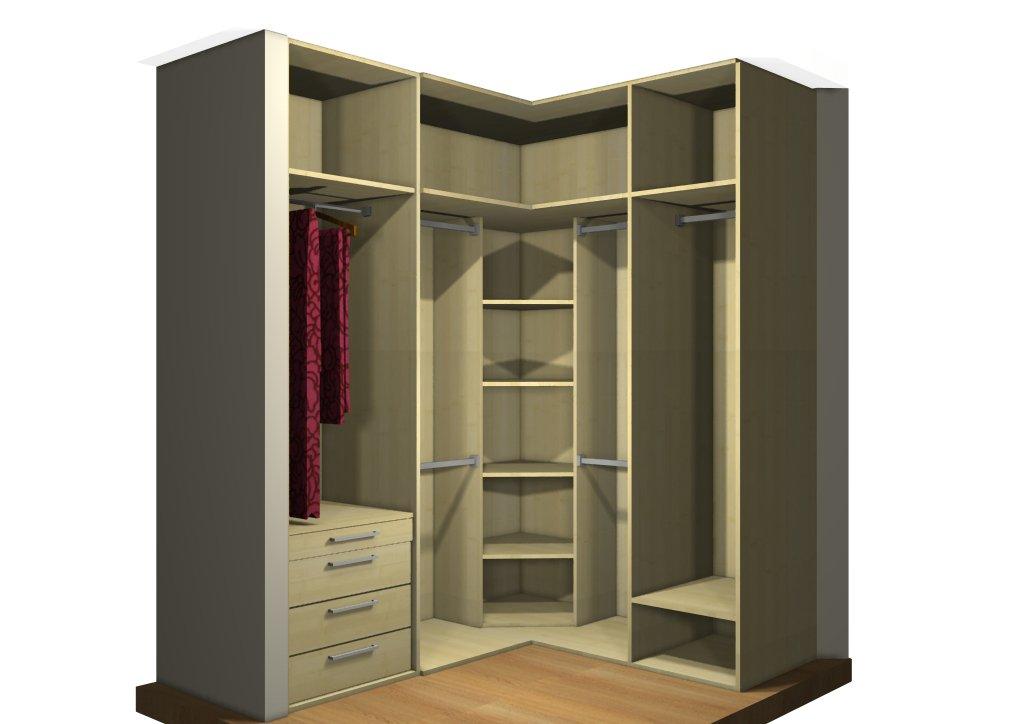 Armarios modulares maderas casais materiales de - Armario en l ...