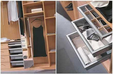 Armarios soluciones en kit maderas casais materiales - Accesorios para armarios ...