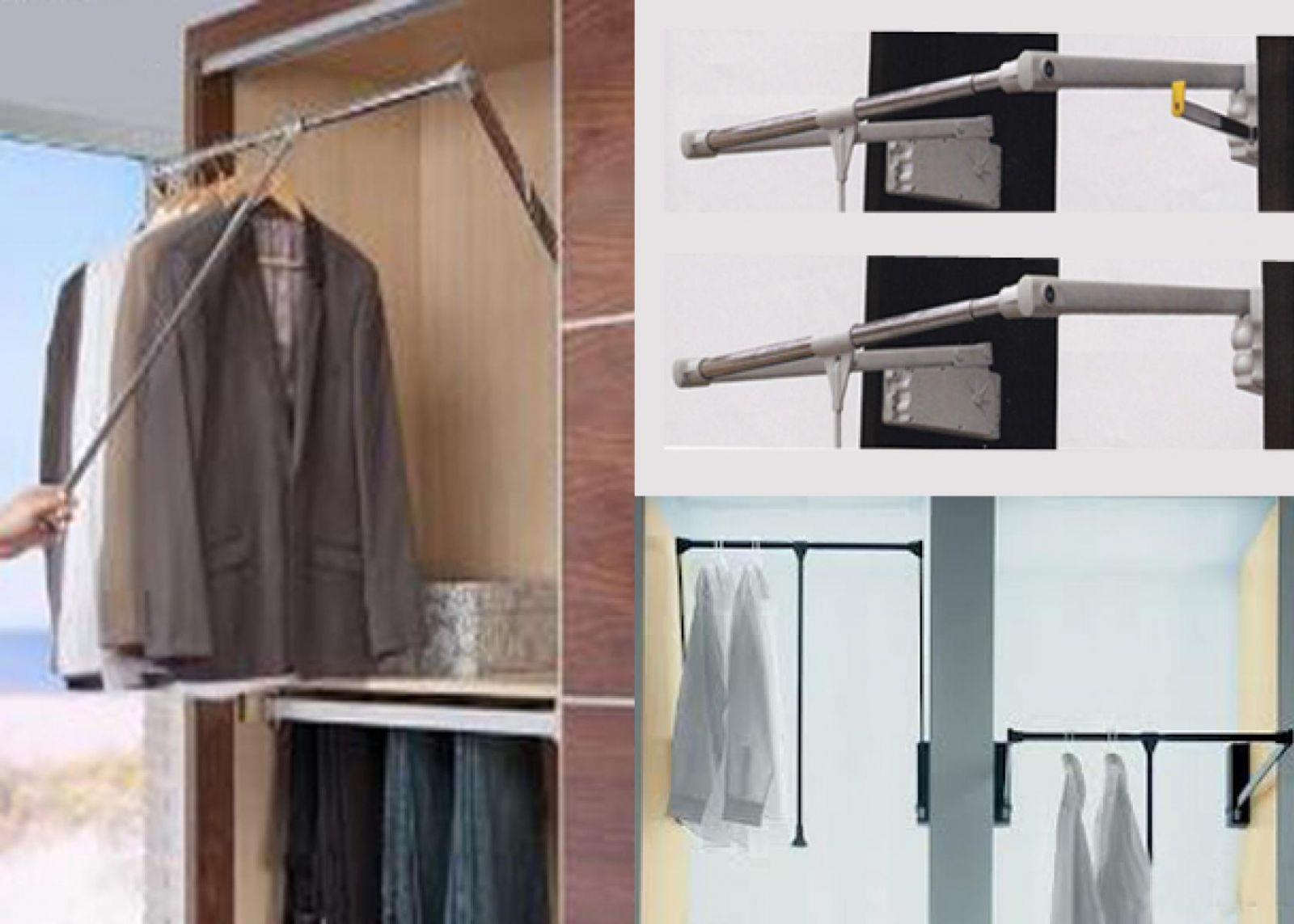 Armarios soluciones en kit maderas casais materiales - Barras de armario ...