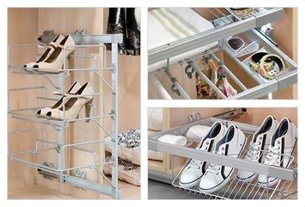 Armarios soluciones en kit maderas casais materiales - Accesorios para organizar armarios ...