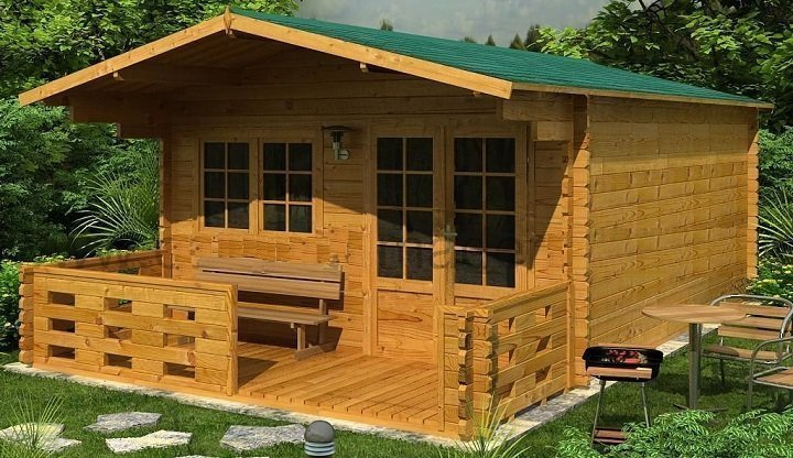 Caba as de madera maderas casais materiales de carpinter a en a coru a galicia - Cabanas de madera los pinos ...
