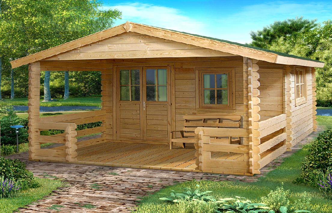 Caba as de madera maderas casais materiales de - Casas prefabricadas a coruna ...