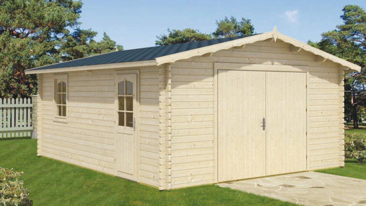 Casas y casetas maderas casais materiales de for Garage mobile per auto