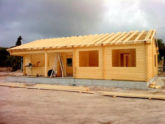 Casas modulares de madera maderas casais materiales de - Madera para casas ...
