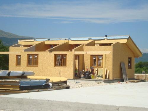 Casas modulares de madera maderas casais materiales de - Casas prefabricadas a coruna ...