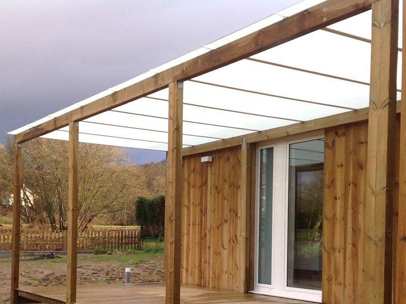 Casas modulares de madera maderas casais materiales de - Casas prefabricadas coruna ...