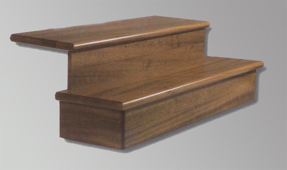 Escaleras pelda os y tabicas maderas casais materiales - Peldanos de madera para escalera ...