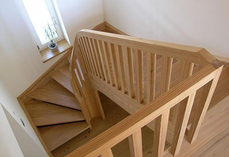 Tipos de escaleras maderas casais materiales de - Scale in legno prefabbricate ...