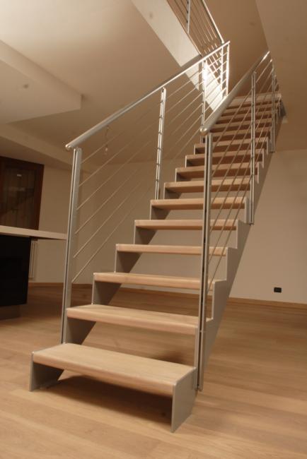 Tipos de escaleras maderas casais materiales de for Passatoie per scale legno