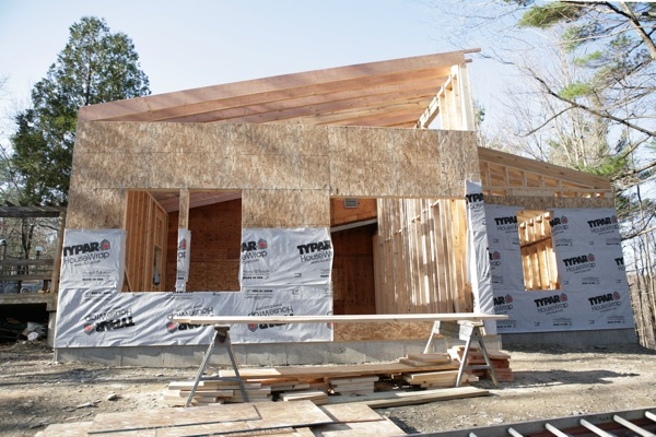 Entramado ligero madera estructural maderas casais - Casas entramado ligero ...