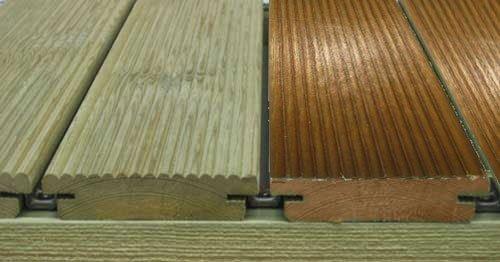 Fotogaler a madera tratada maderas casais materiales - Listones de madera para exterior ...