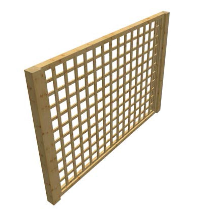 Productos madera tratada maderas casais materiales - Cortavientos de jardin ...