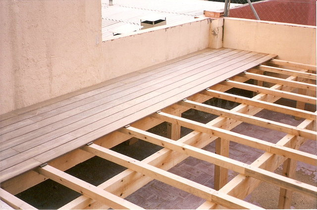Decking maderas casais materiales de carpinter a en a for Tarima exterior ikea
