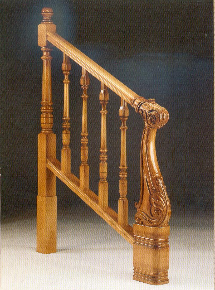 Pasamanos torneados maderas casais materiales de - Materiales de carpinteria ...