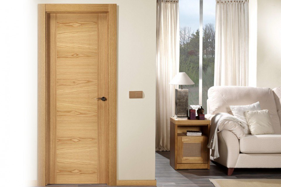 Puertas lisas maderas casais materiales de carpinter a - Puertas para casa baratas ...