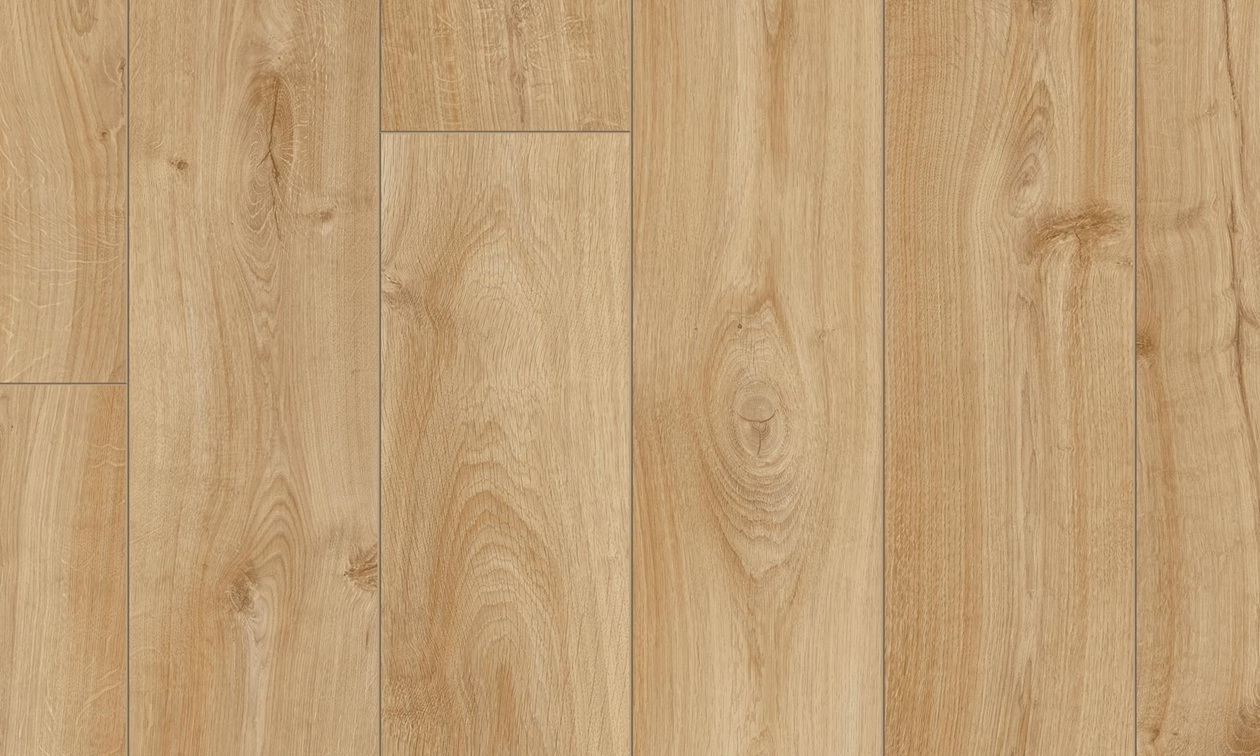 Pergo long plank roble beige suelos laminados for Suelos de roble